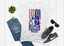 Load image into Gallery viewer, TRUMP Train Men's Graphic Tee