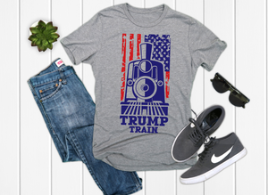 TRUMP Train Men's Graphic Tee