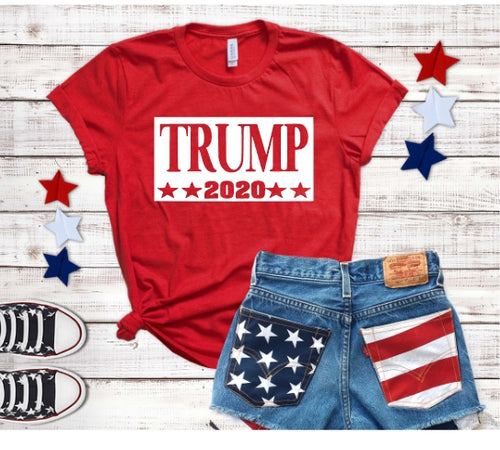 TRUMP 2020 Shirt, Choose Shirt Color - The Hot Polka Dot