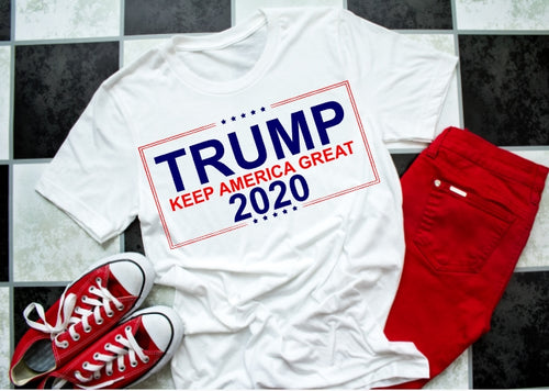 TRUMP 2020 KEEP America Great Shirt, Choose Shirt Color - The Hot Polka Dot