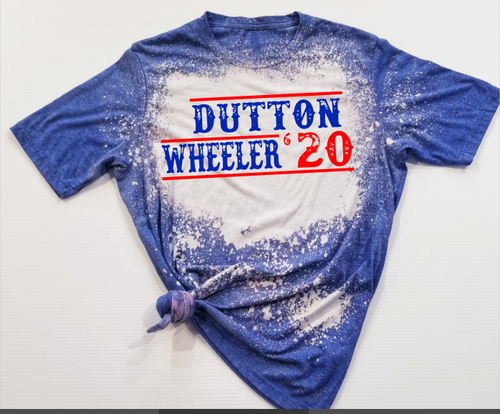 *BLEACHED* Dutton & Wheeler 2020 Premium Graphic Tee