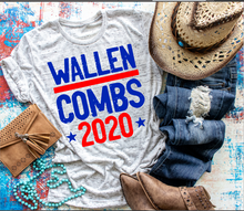 Load image into Gallery viewer, Dutton & Wheeler 2020 Premium Triblend Graphic Tee