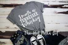 Load image into Gallery viewer, Smooth as Tennessee Whiskey Shirt, Adult Chris Stapleton Rodeo Concert Shirt - The Hot Polka Dot