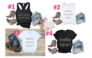 Country Cutie with a Rock N Roll Booty Tank Top, Rodeo Tank, Concert Tank, Cute Rodeo Tank. Choose Shirt Style & Color, Rodeo Shirt - The Hot Polka Dot