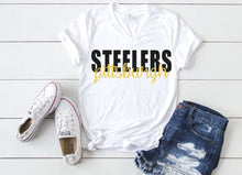 Load image into Gallery viewer, Pittsburgh STEELERS Tank or TShirt, Kids & Adults - The Hot Polka Dot