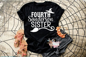 Hocus Pocus Halloween Shirt, Fourth Sanderson Sister - The Hot Polka Dot