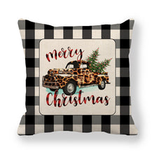 Load image into Gallery viewer, 18x18 Christmas Pillow Cover, 4 DESIGNS to choose from