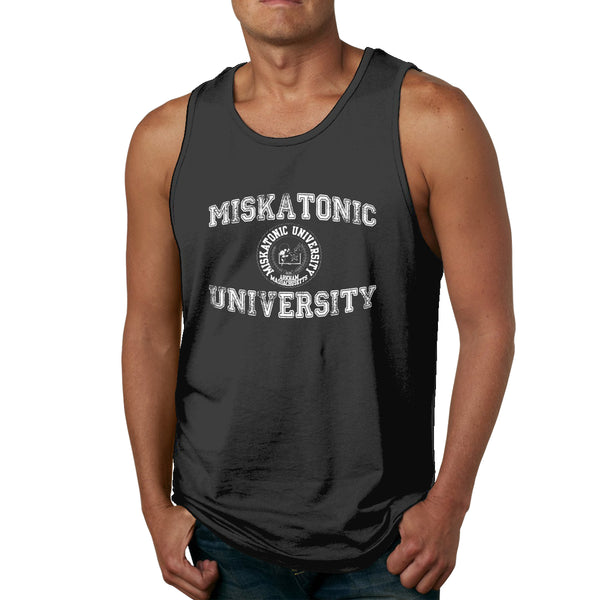 Miskatonic University Men's Tank Top Shirt