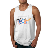Hi From My Sunny Balcony Men's Tank Top Shirt