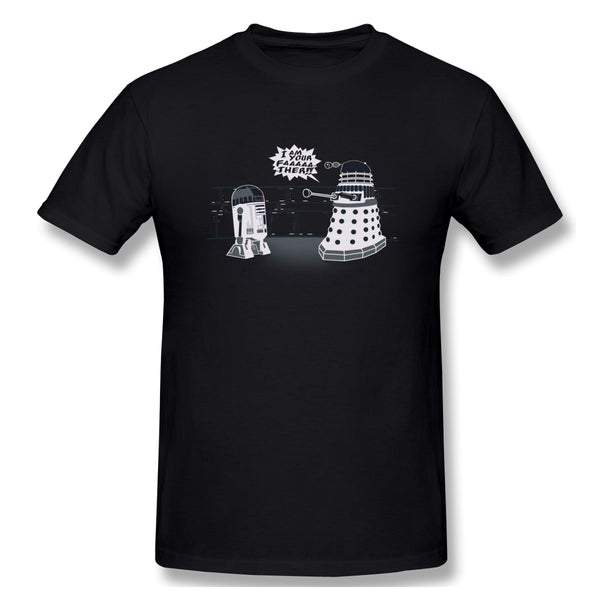 I Am Your Dalek And Who Is Doctor Men's Basic Short Sleeve T-Shirt