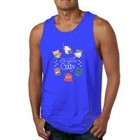 Dungeons & Cats Dungeons And Dragans Men's Tank Top Shirt