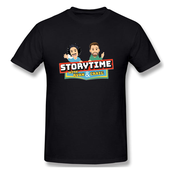 Storytime W Ryan S & Craigs Men's Basic Short Sleeve T-Shirt