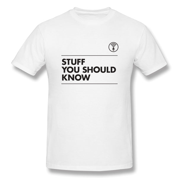 Stuff You Should Know And Sysk Men's Basic Short Sleeve T-Shirt