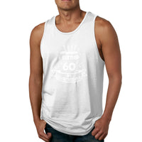 I Turned 60 In Quarantine Quarantine Birthday Men's Tank Top Shirt
