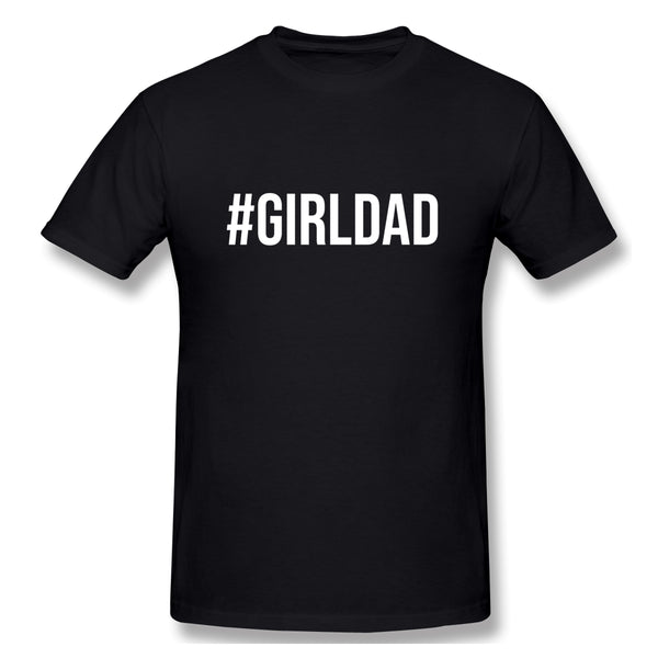 Girl Dad Men S Dad Shirt Gift Idea For Father S Day Gift For Him Dad Life Gift Ideas Girls Men's Basic Short Sleeve T-Shirt