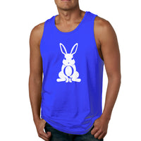 Qanon Shirt Follow The White Rabbit The Storm Is Coming Men's Tank Top Shirt
