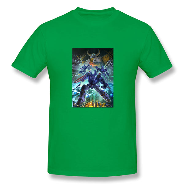 The Chaos Bringer Trans To Formers Men's Basic Short Sleeve T-Shirt