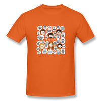 FRIENDS TV And Lines In Friends Men's Basic Short Sleeve T-Shirt