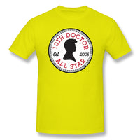 All The Star Tenth Who Is Doctor Men's Basic Short Sleeve T-Shirt