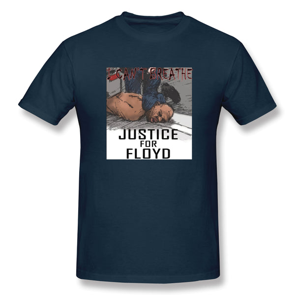 RIP George Floyd Shirt Black Lives Matter Justice Y(1) Men's Basic Short Sleeve T-Shirt