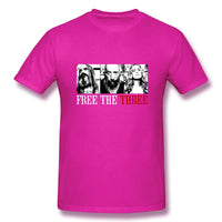 Free The Three 3 From Hells Men's Basic Short Sleeve T-Shirt