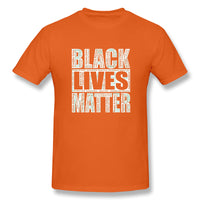 Black Lives Matter With Names Of Victims Yy Men's Basic Short Sleeve T-Shirt