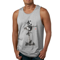 Wushu Taiji Men's Tank Top Shirt