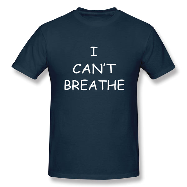 I Can T Breathe Men's Basic Short Sleeve T-Shirt