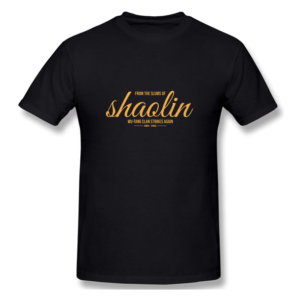 From The Slum Of Shaolinsi Wu Tang Men's Basic Short Sleeve T-Shirt
