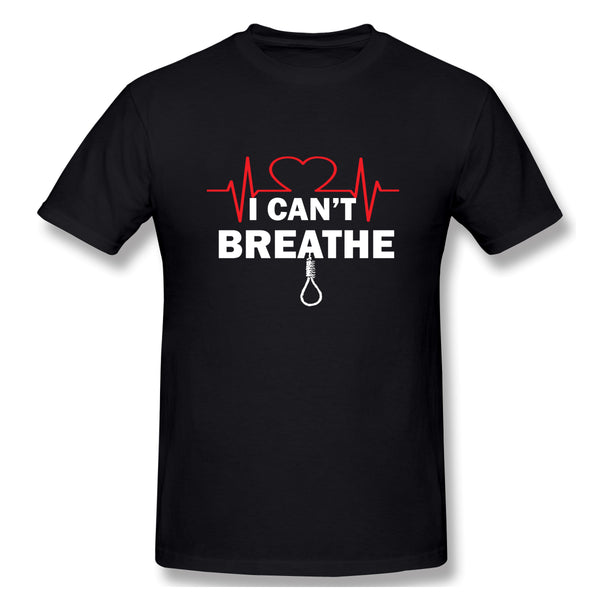 I Can T Breathe I Cant Breathe Justice For Men's Basic Short Sleeve T-Shirt