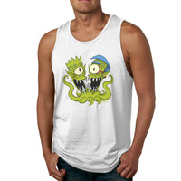 Alien And Boy Men's Tank Top Shirt