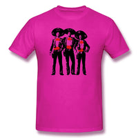 Three Or One Amigos Silhouette The Amigos Men's Basic Short Sleeve T-Shirt