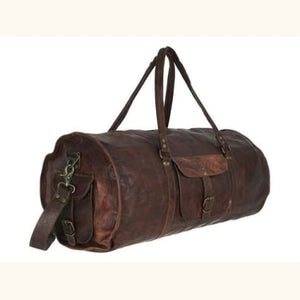 20authentic full Grain Leather Travel Bag Premium Leather
