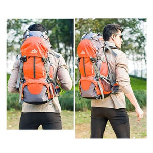50l Sports Bag Outdoor Travel/climbing/trekking Backpack Premium Leather