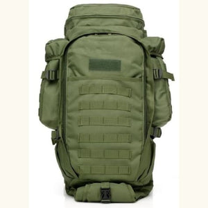 60l Outdoor Waterproof Tactical Backpack Green Premium Leather