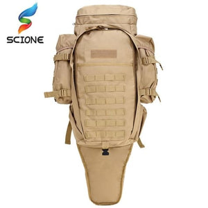 60l Outdoor Waterproof Tactical Backpack Premium Leather
