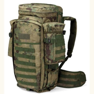 60l Outdoor Waterproof Tactical Backpack Jungle Camouflage Premium Leather