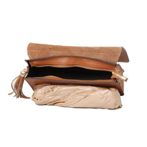 Albenga Italian Leather Crossbody Clutch Premium Leather