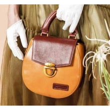 Load image into Gallery viewer, Argintine Leather Satchel Bag & Wristlet/purse Tan Premium Leather
