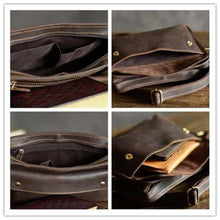 Load image into Gallery viewer, Au Courant Leather Crossbody/messenger & Shoulder Bag Premium Leather