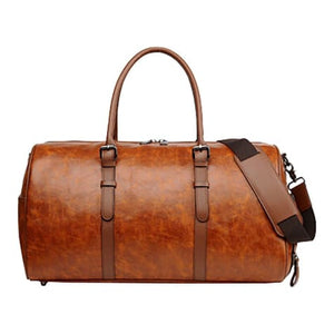 Authentic Leather Duffel and Sports Training Bag Premium Leather