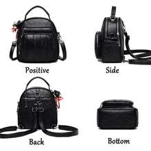 Load image into Gallery viewer, Authentic Sheepskin Leather Fashion Multifunctional Backpack Premium Leather