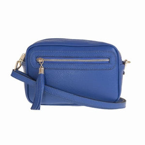 Bellini Bivigliano Crossbody Bag Bluette Premium Leather