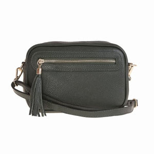 Bellini Bivigliano Crossbody Bag Green Premium Leather
