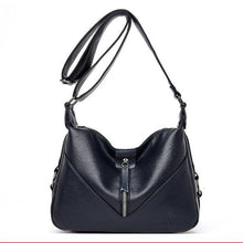 Load image into Gallery viewer, Bolsa Leather Fashion Soft Shoulder Bag Blue / (20cm<max Length<30cm) Premium Leather