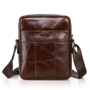Bos Leather Laptop/messenger Bag Premium Leather