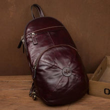 Load image into Gallery viewer, Bourbon Street full Grain Leather Travel Backpack Premium Leather