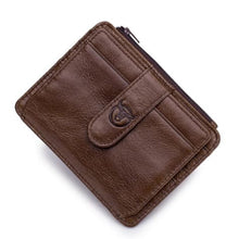 Load image into Gallery viewer, Bull Hide Leather Men's Rfid Wallet/ Soft Clutch Premium Leather