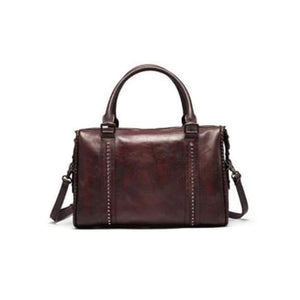 Burganda Leather Designer Handbag