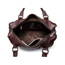 Load image into Gallery viewer, Burganda Leather Designer Handbag